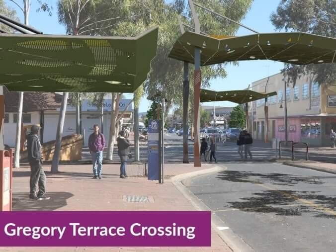 Alice Springs to get shadier, but with more CCTV as part of revitalisation project