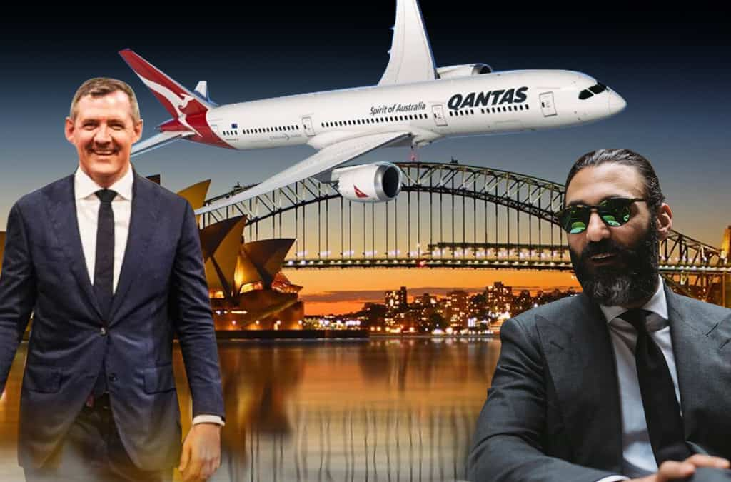 Chief Minister Michael Gunner's secret night in Sydney with high-priced tailor revealed