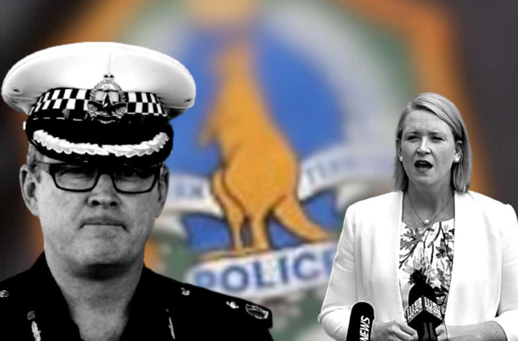 'Why are they hiding information?': CLP says Gunner Government influencing police media
